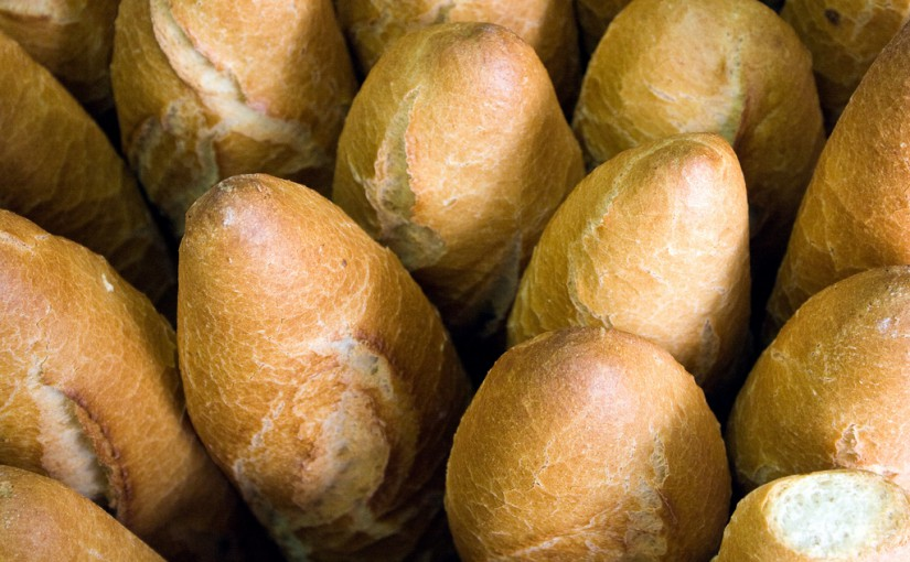 Real food - fresh bread